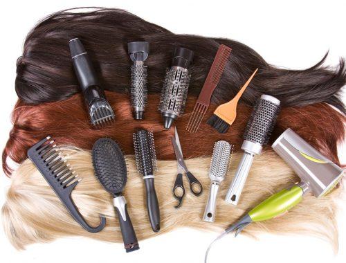 perawatan Ekstension rambut clip in