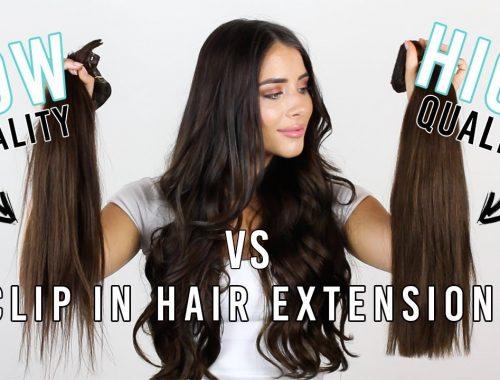 ekstension rambut klip vs wig