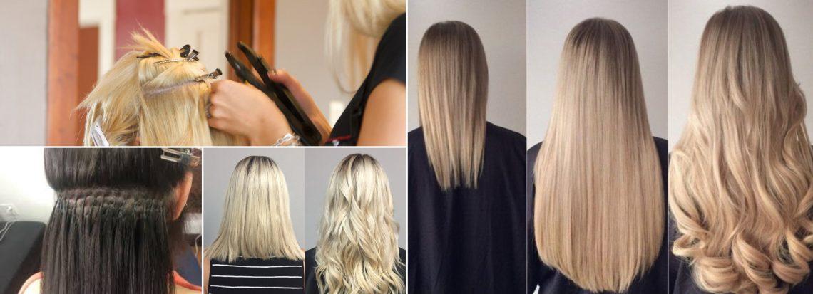 ekstension rambut manusia asli