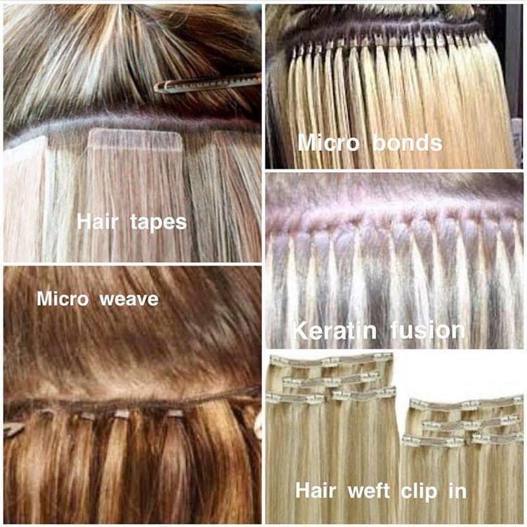 jenis jenis hair extension