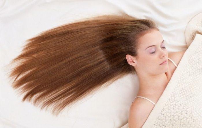 sleep with hair extension